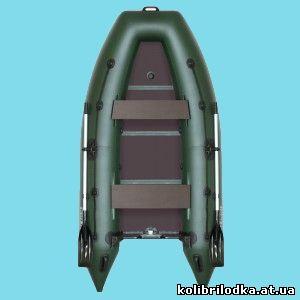 Надувная килевая моторная лодка KМ-300Д