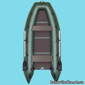 Надувная килевая моторная лодка KМ-330Д